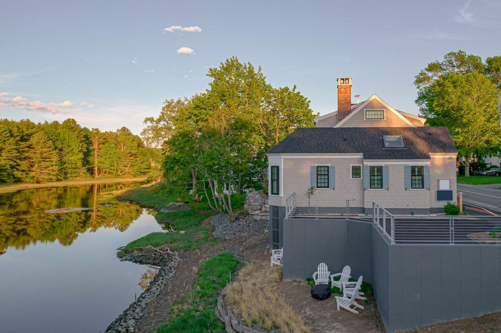 Waterfront Maine Home in Kennebunkport