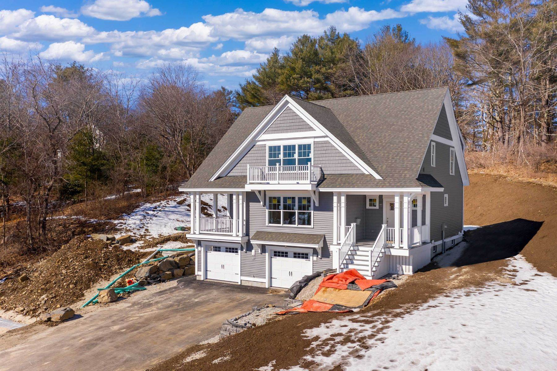 Single Family Homes for Sale at Custom To Be Built with Spruce Creek Views in Coveted Kittery Point Neighborhood 16 Heron Point Lane, Kittery, ME 03905