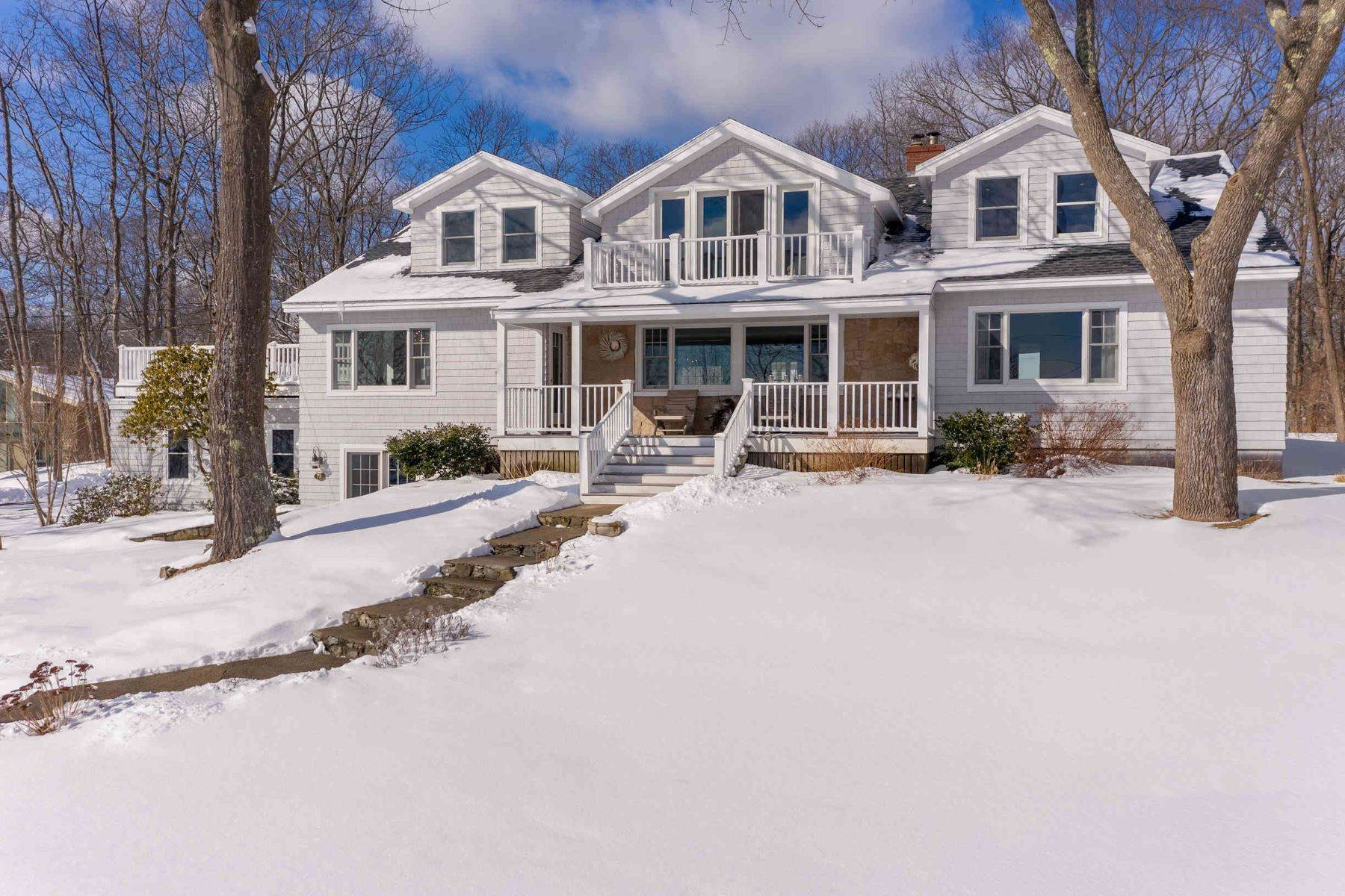 Single Family Homes for Sale at Exceptional Coastal Residence in Coveted York Harbor 78 Norwood Farms Road, York, ME 03909