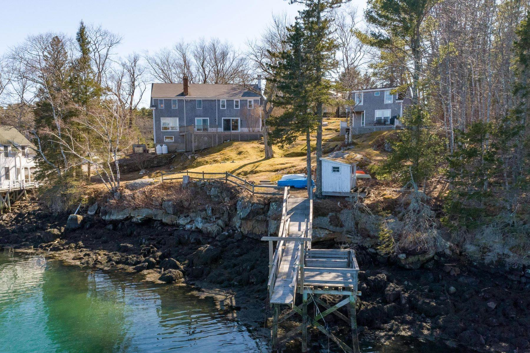 4. Single Family Homes for Sale at Southport, ME 04576