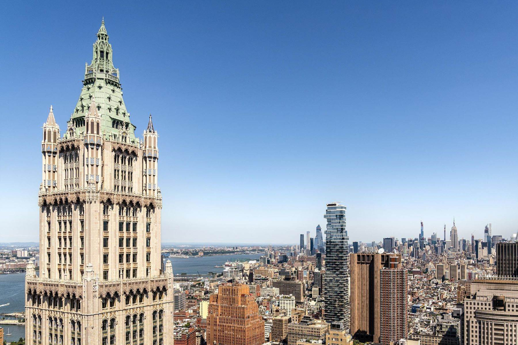 Condominiums for Sale at The Pinnacle Penthouse 2 Park Place, Pinnacle Penthouse, Downtown Manhattan, New York, NY 10007