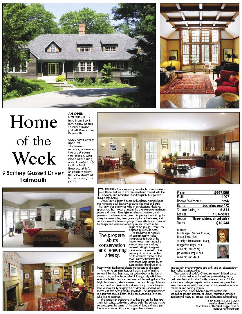 maine real estate home of the week maine real estate blog